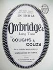 Owbridges Advertisement 1918