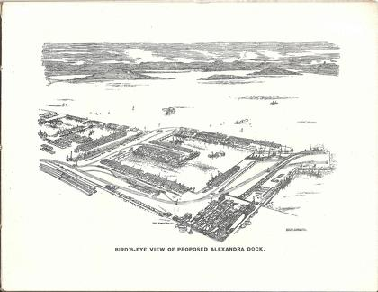 Proposed Alexandra Dock, Bombay 1905