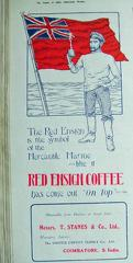 Red Ensign Coffee Advertisement 1918