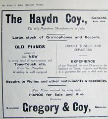 The Haydn Co Advertisement 1918