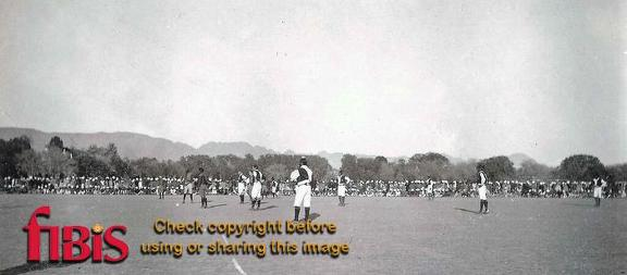 1st Sihks v 5th Football Match, Kohat ca 1910