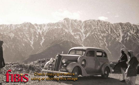 Plymouth 1936 Model, Kulu Valley, India 1936