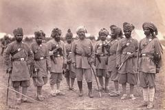 Officers of Khyber Rifles 1891