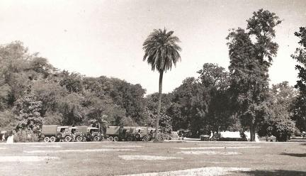 Transport Lawrence Gardens, Lahore July 1935