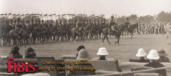 6th Duke of Connaught's Own Lancers, Lahore New Years Day 1936
