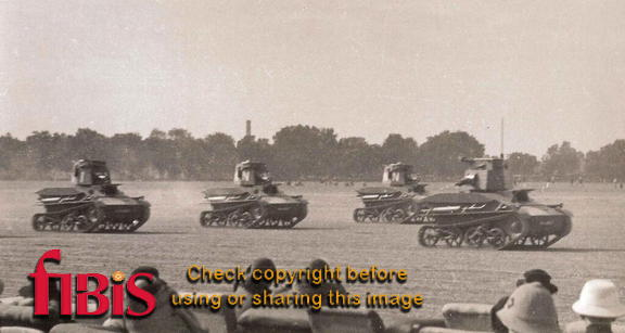 Light Tanks, Lahore New Years Day 1936