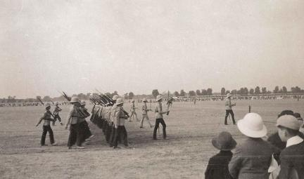 The Royal Scots, Lahore New Years Day 1936