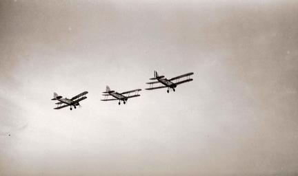 Three Westland Wapiti Biplanes, Lahore, 1st January 1937