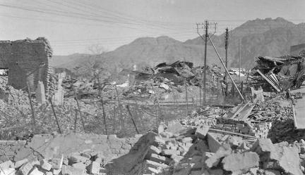 Aftermath of the Quetta Earthquake 1935