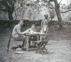 Breakfast in Camp, Sind Valley, Kashmir May to June 1920