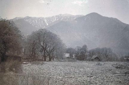 Village near camp,  Sind Valley, Kashmir May to June 1920