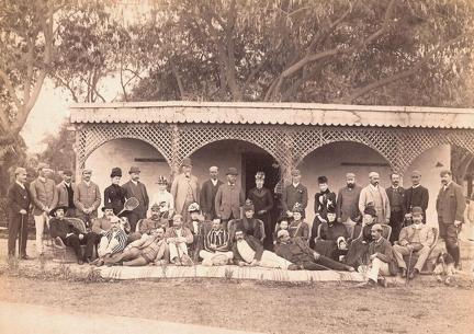 The Officers' Club, Dera Ismail Khan, Punjab, Pakistan 1890