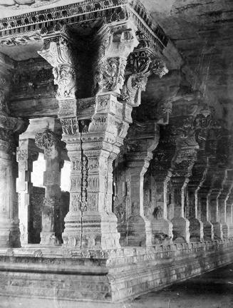 Carved Pillar Ramaswami Temple Hampi