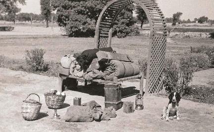 Contents of trailer, Multan, Pakistan January 1936