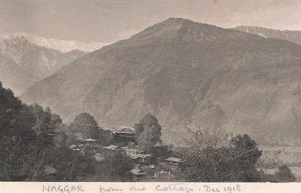Naggar, Himachal Pradesh, India December 1918