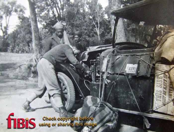 Vintage Car 1930's India