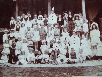 Children's Fancy Dress Dance at Nedou's Hotel, Gulmarg, Kashmir 1911