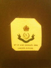 5th Bat Jacob Rifles 10th Baluch