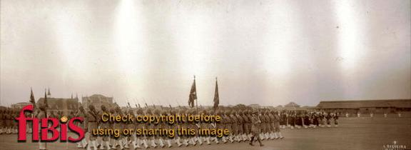 Presentation of Colours Baluch Regt 1929