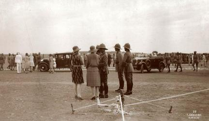 Presentation of Colours Regt 1929