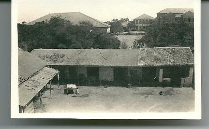 View of stables from back of house Karachi