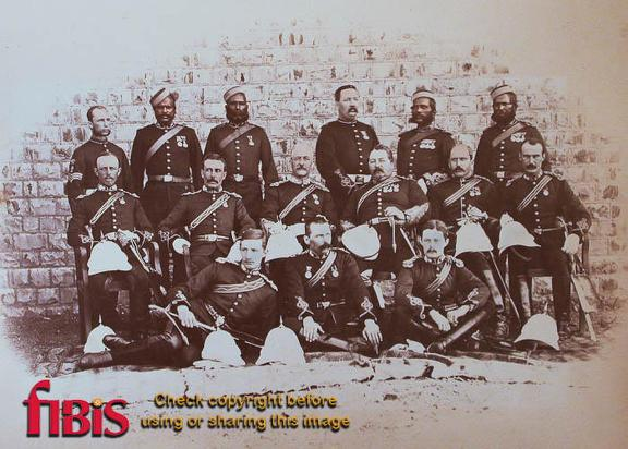 Group of Army officers