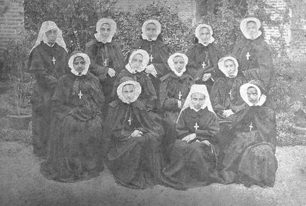 Group of Sisters of the order of Convent Jesus and Mary