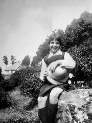 Eyleen Cronan at St Helens, Kurseong in 1928