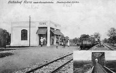 Postcard of Ruvu Station in East Africa in 1916