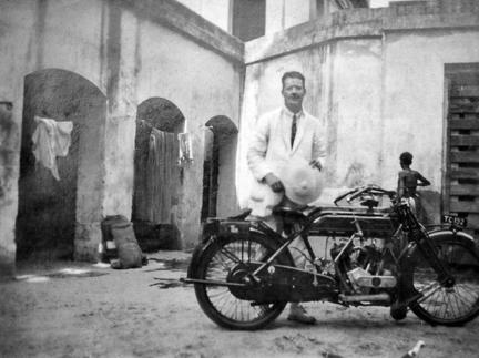 Cyril Cronan in Calcutta 1926