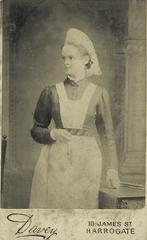 Emma Lawrence at Leeds infirmary in 1880