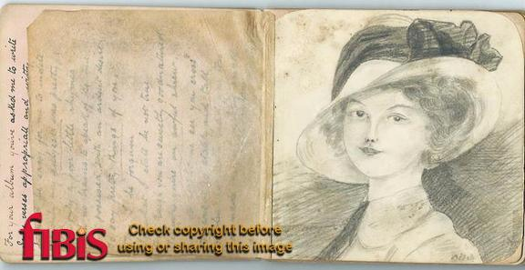 Phyllis Lawrence Heron Collection Autograph Album