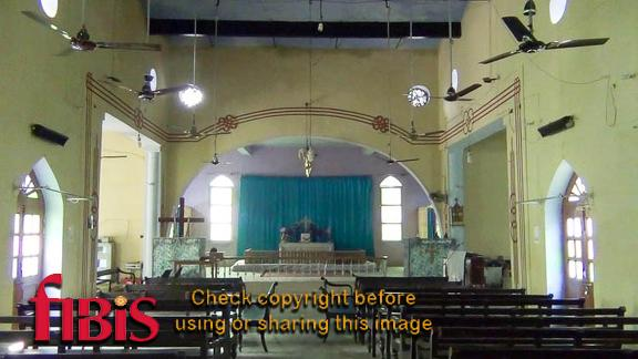 Bijnor Central Methodist Church interior