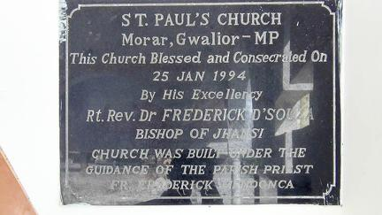 Gwalior St Pauls Church Morar