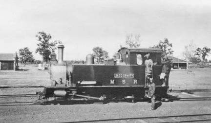 Mourbhary Light Railway engine 'Jaggernath'
