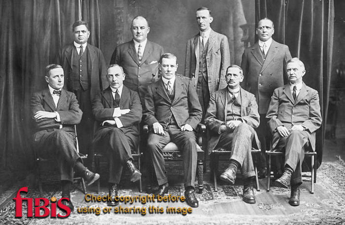Unknown group of men