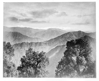 1890 approx Mountain panorama