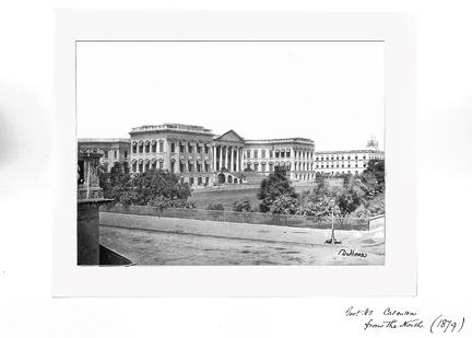 1879 Calcutta Govt House from the north