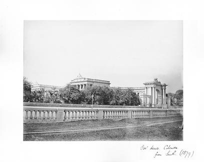 1879 Calcutta Govt House from the south