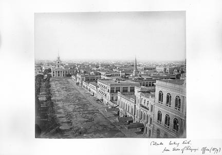 1879 Calcutta looking north from Telegraph Office