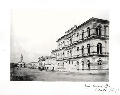 1879 Calcutta Paper Currency Office