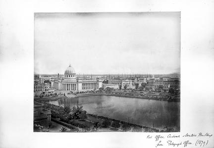 1879 Calcutta Post Office etc