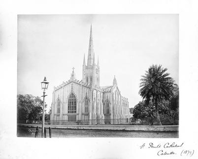 1879 Calcutta St Pauls Cathedral