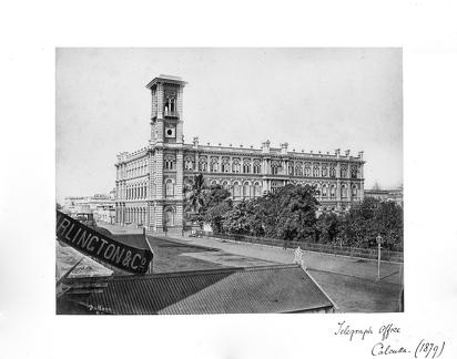 1879 Calcutta Telegraph Office 1