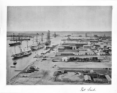 1879 January Egypt - Port Said