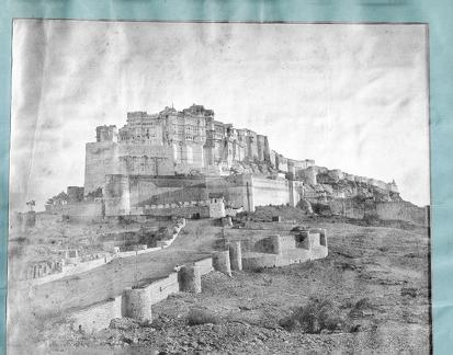 View of Bharatpur Fort (?)