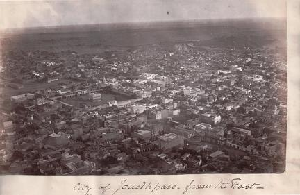 View of City of Jouhdpore from the East
