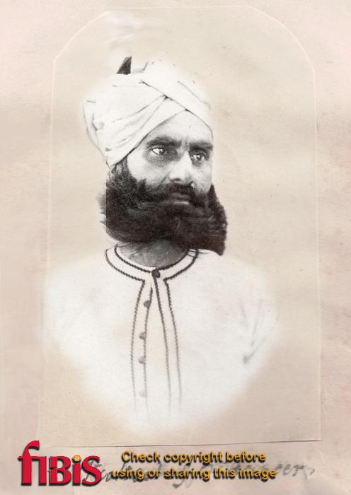 Portrait of Wukeel of Bikaneer