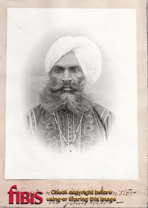 Portrait of Murdan Ali Khan, Minister at Jouhdpoure