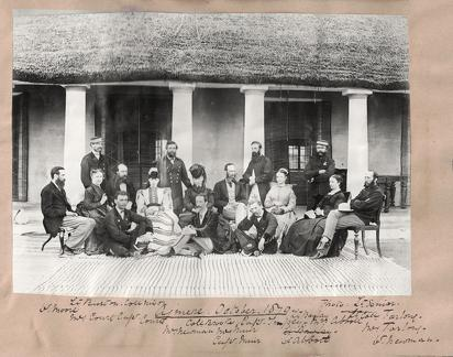 Group photograph Ajmere 1870
